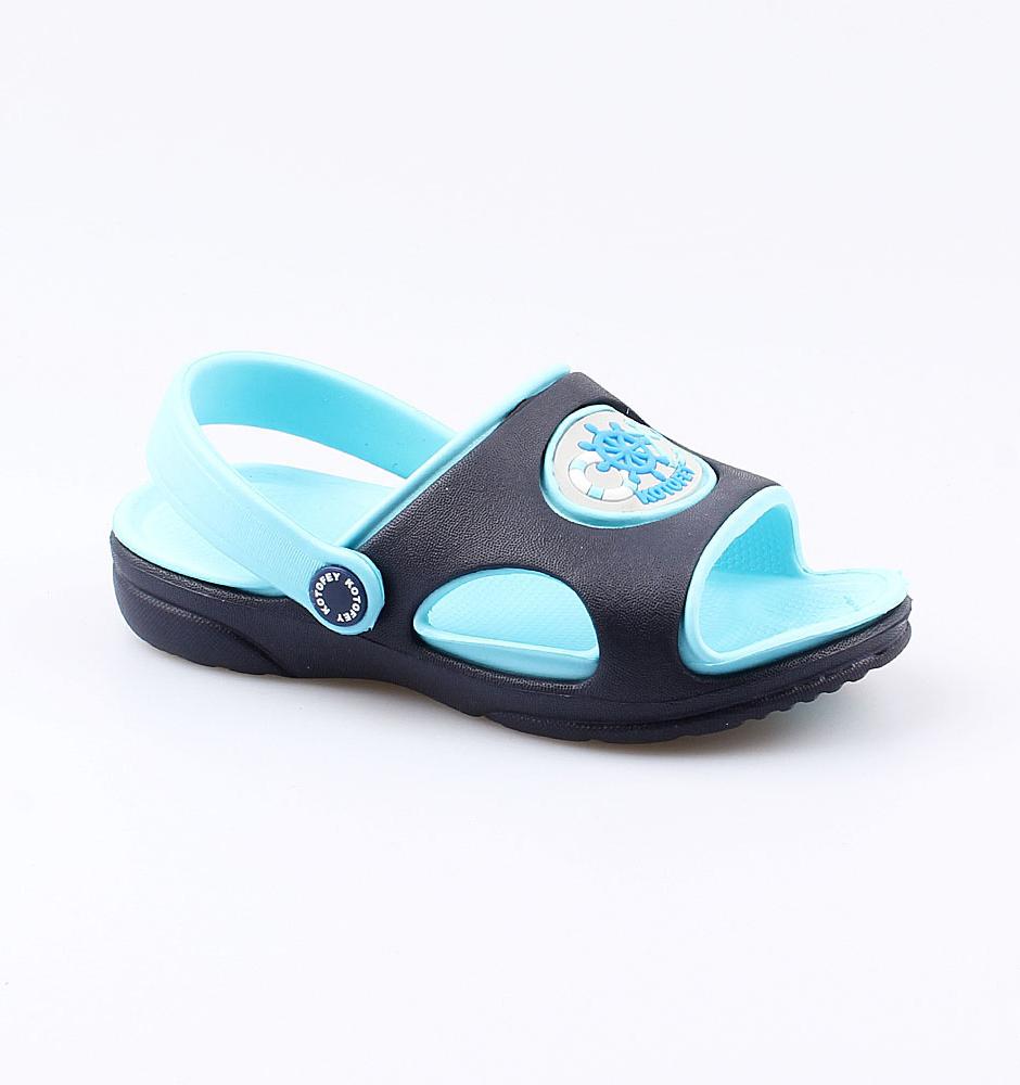 Купить Пляжная обувь Котофей 325020-04 для мальчиков р.26, Шлепанцы и сланцы детские