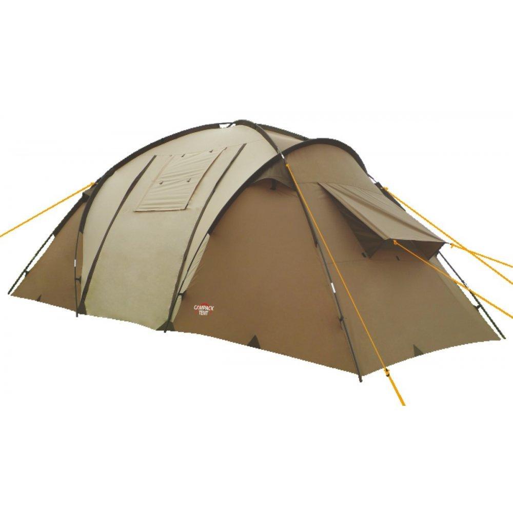 Палатка Campack-Tent Travel Voyager четырехместная зеленая/коричневая
