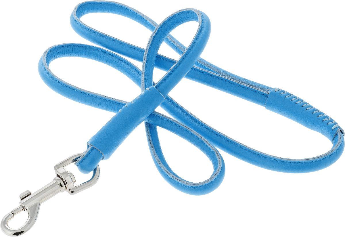 Поводок для собак CoLLaR Glamour круглый 10мм, 122см синий