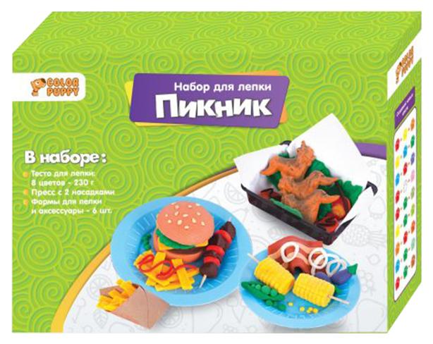 Набор для лепки из глины Color Puppy 637005 пикник