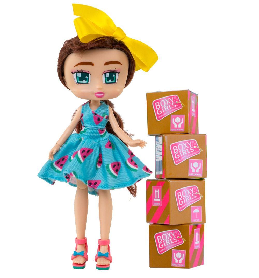 Купить 1 TOY Кукла Boxy Girls Brooklyn 20 см. с аксессуарами,