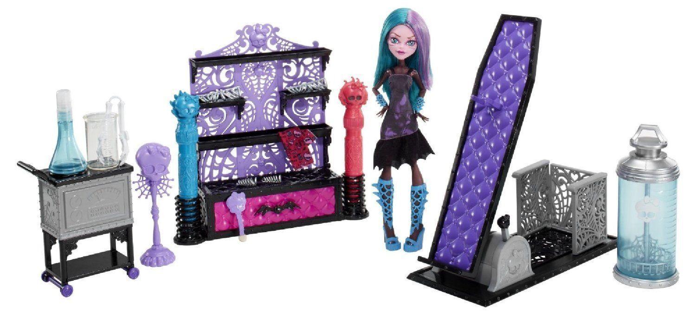 Купить Игровой набор с куклой Monster High Раскрась монстра Дизайнерская лаборатория BCC47, Классические куклы