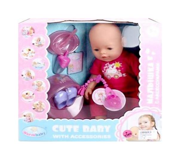 Купить Интерактивная кукла Наша Игрушка 40 см 8060-502, Наша игрушка, Интерактивные куклы