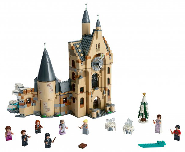 Конструктор LEGO Harry Potter Часовая башня Хогвартса фото
