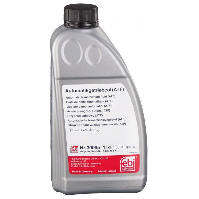 Трансмиссионное масло FEBI зеленый 1л. 39095
