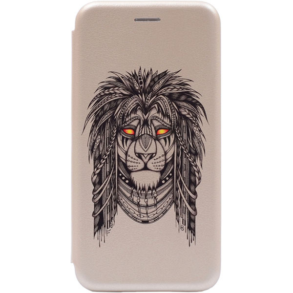 Чехол Gosso Cases для Huawei Honor 8C «Grand Leo» Gold
