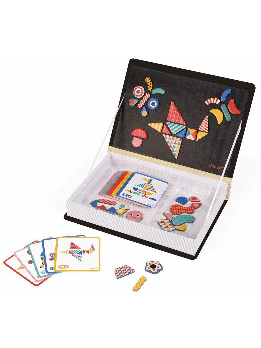 Семейная настольная игра Janod Мозаика в геометрии J02720 фото