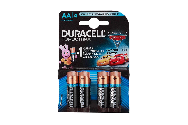 Батарейка Duracell Turbo Max AA 4 шт