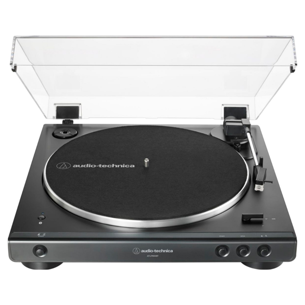 Проигрыватель виниловых пластинок Audio-Technica AT-LP60XBTBK Black фото