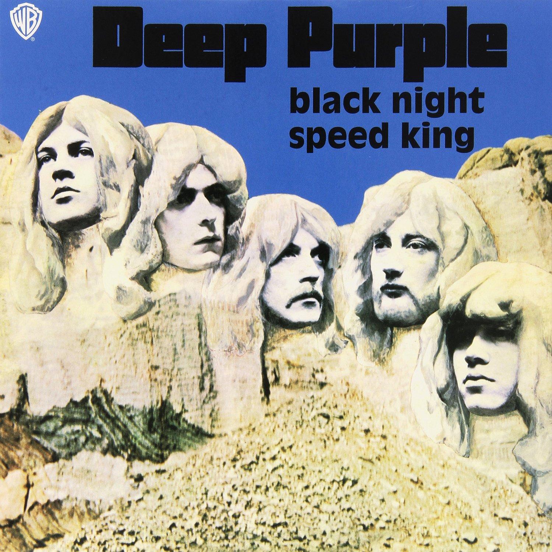 Виниловая пластинка Deep Purple Black Night, Speed King (7\