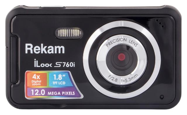 Фотоаппарат цифровой компактный Rekam iLook S760i Black