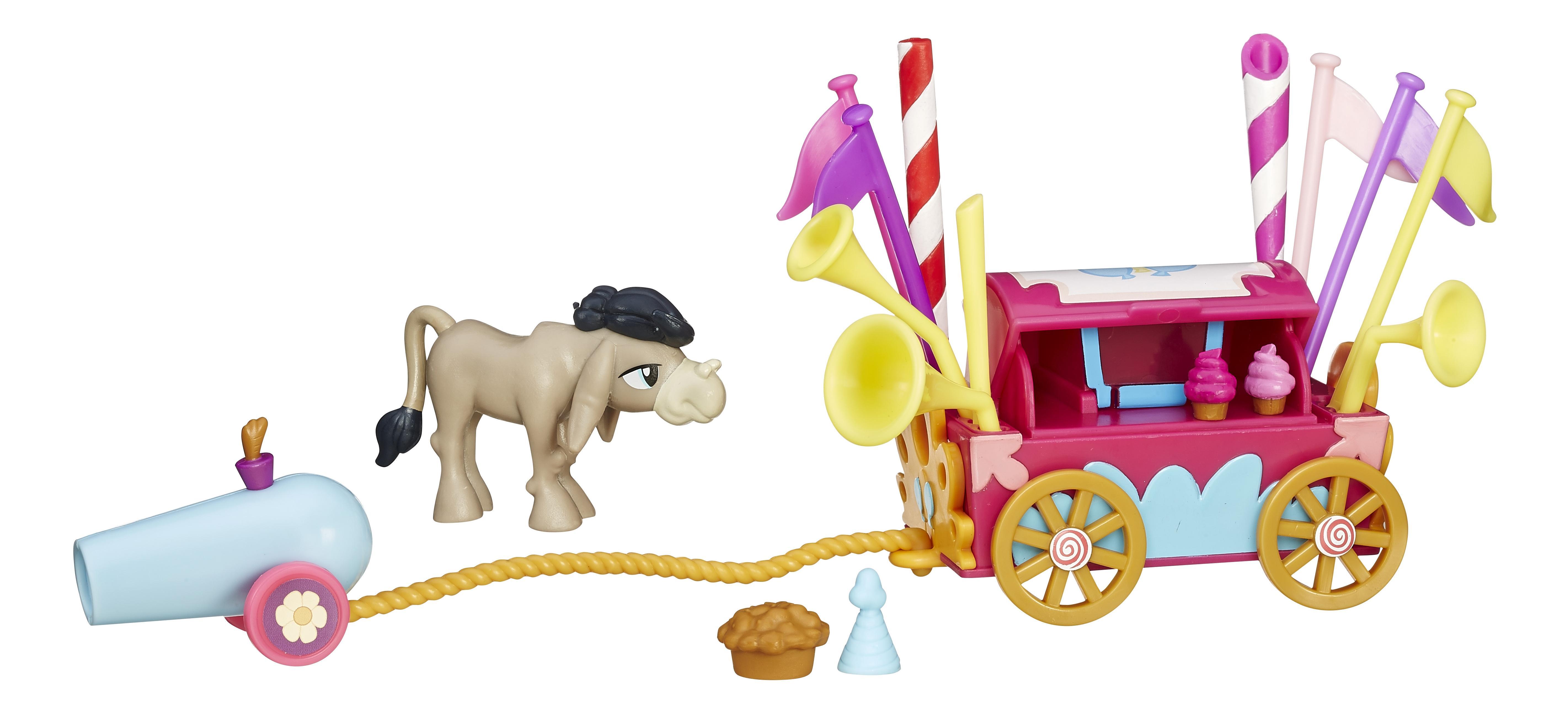 картинки тележка для пони