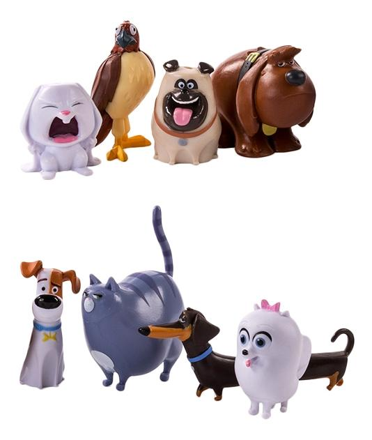 Купить Secret life of pets 72807 тайная жизнь домашних животных набор из 8 мини-фигурок, Игровые наборы