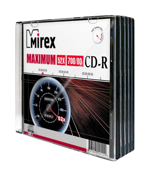 Диск для записи Mirex Maximum CD