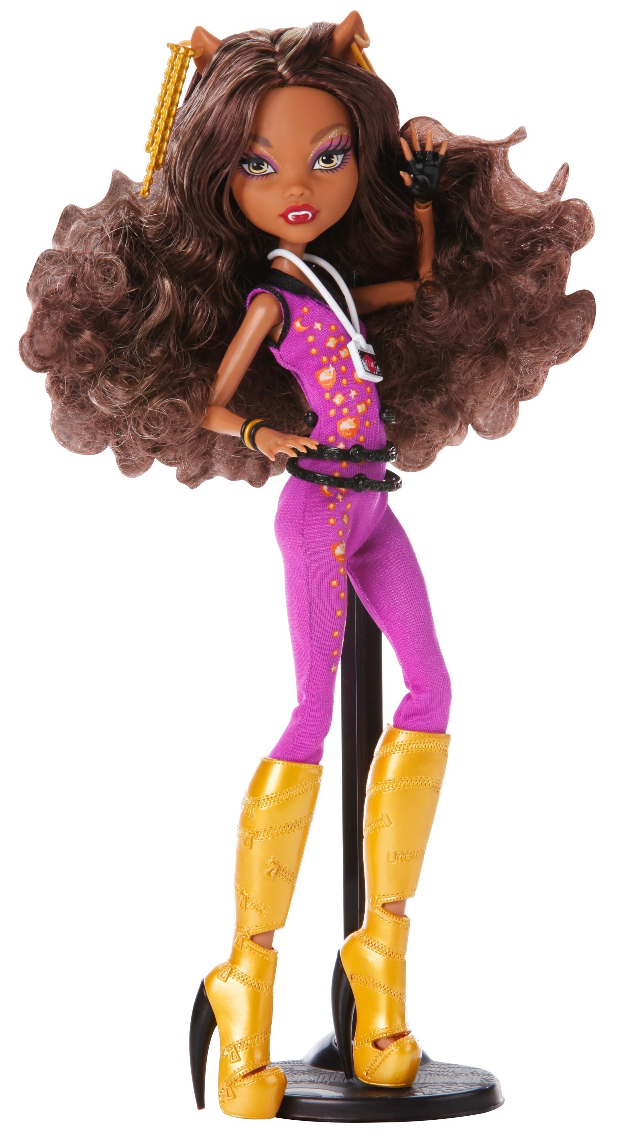 Купить Кукла Monster High® Музыкальный фестиваль Клодин Вульф Y7692 Y7693, Игровые наборы