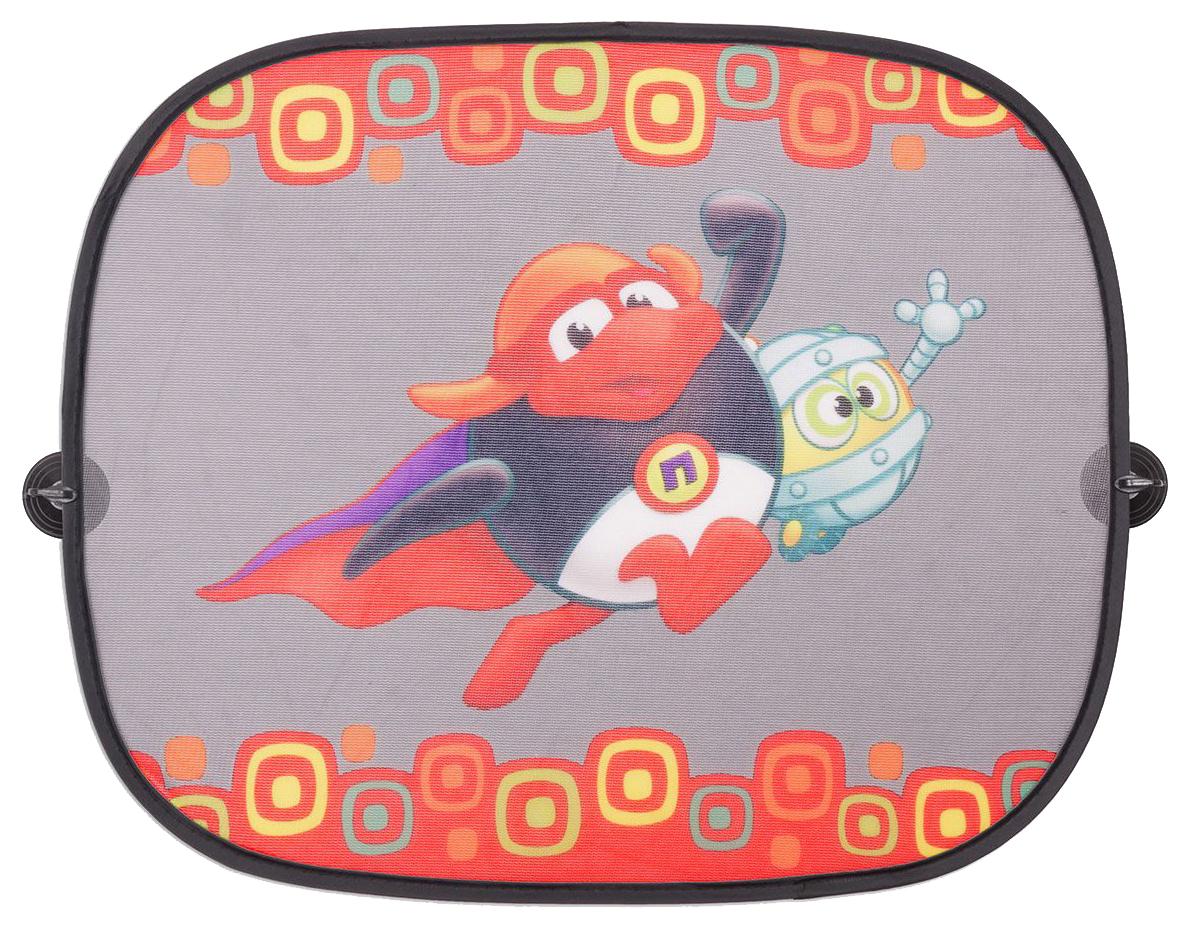 Шторка солнцезащитная Смешарики на боковые окна SM/WIN-012 Pin фото