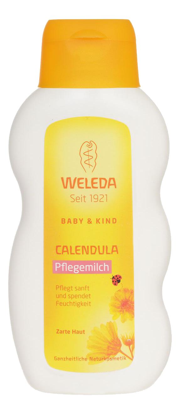 Молочко для тела Weleda с календулой для младенцев 200 мл