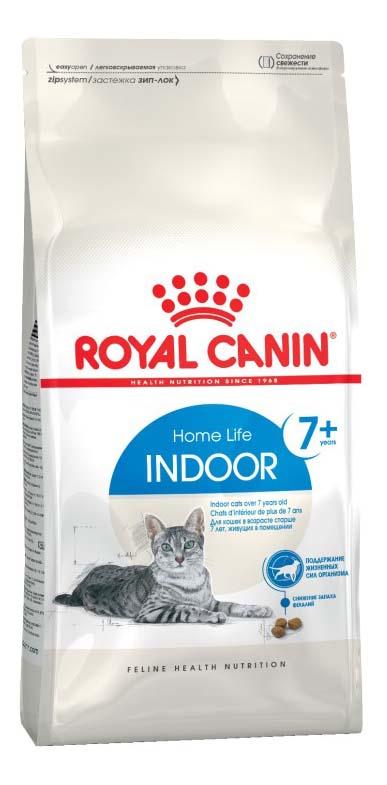 Сухой корм для кошек ROYAL CANIN Home Life Indoor 7+, для домашних старше 7 лет, 1,5кг фото