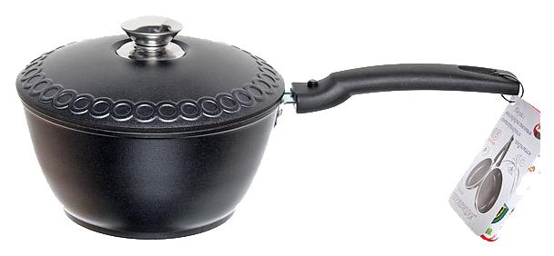 Кастрюля - ковш Kukmara Традиция к015а Черный