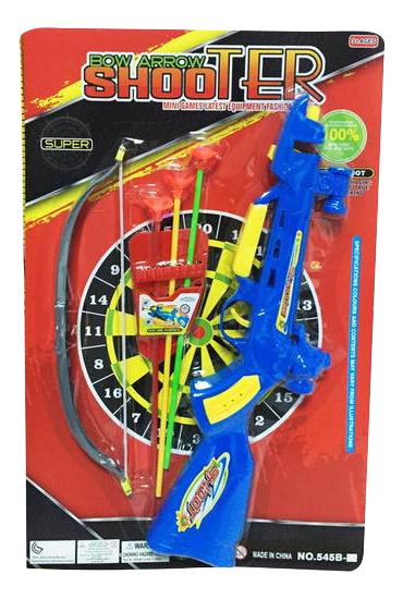Лук игрушечный Junfa Toys Shooter - Арбалет и Лук с присосками фото