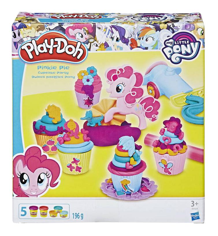 Купить Набор для лепки из пластилина Play-Doh Вечеринка Пинки Пай, Лепка
