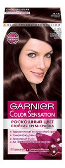 Краска для волос Garnier Color Sensation 4.12 Холодный алмазный шатен