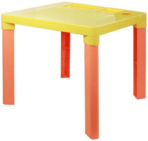 Купить Стол детский HITT Желтый (М2465), Детские столики