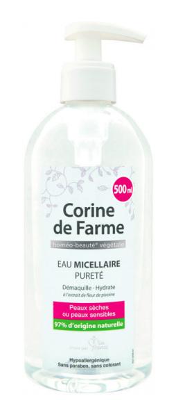 Мицеллярная вода Corine de Farme очищающая,