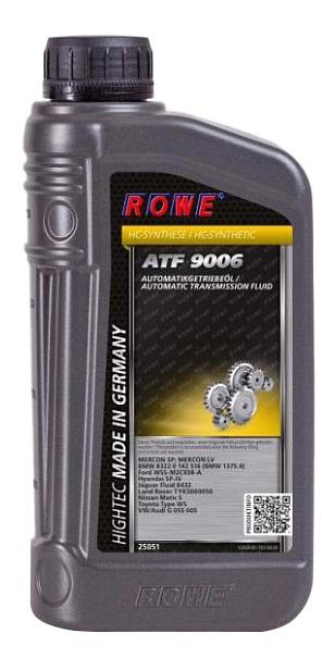 Трансмиссионное масло Rowe HIGHTEC ATF 1л 25051