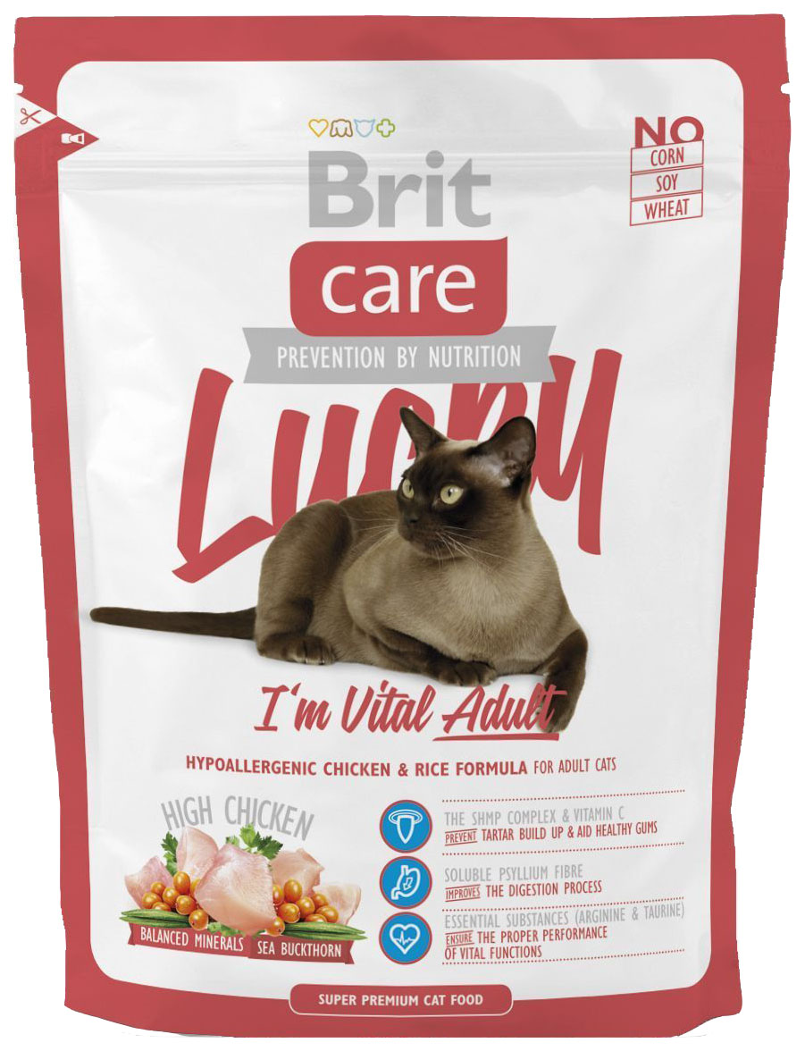 BRIT CARE LUCKY VITAL ADULT