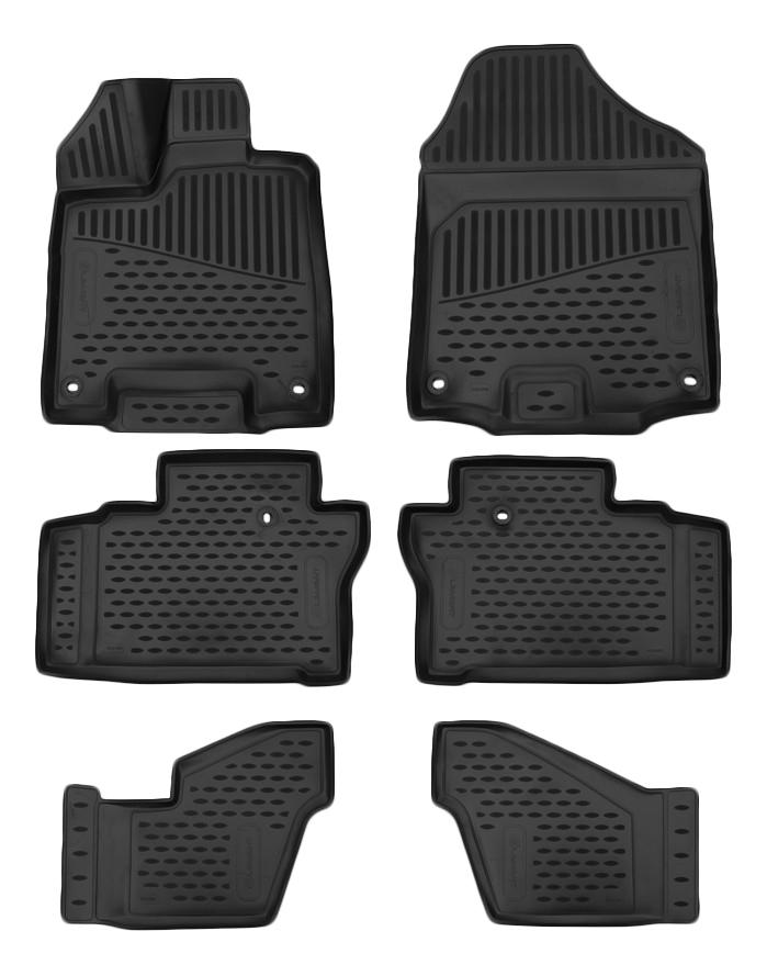 Комплект ковриков в салон автомобиля Autofamily для Honda (ELEMENT3D1836210k)
