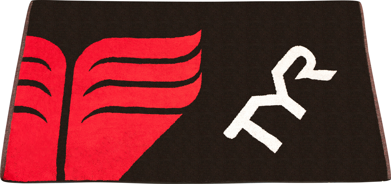 Пляжное полотенце TYR черный