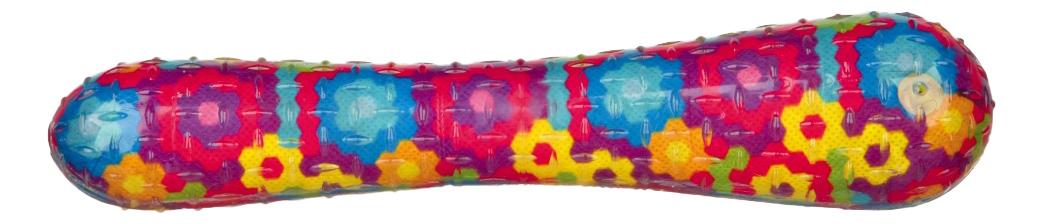 Игрушка-пищалка для собак TRIXIE Палочка из резины, разноцветная, 26 см