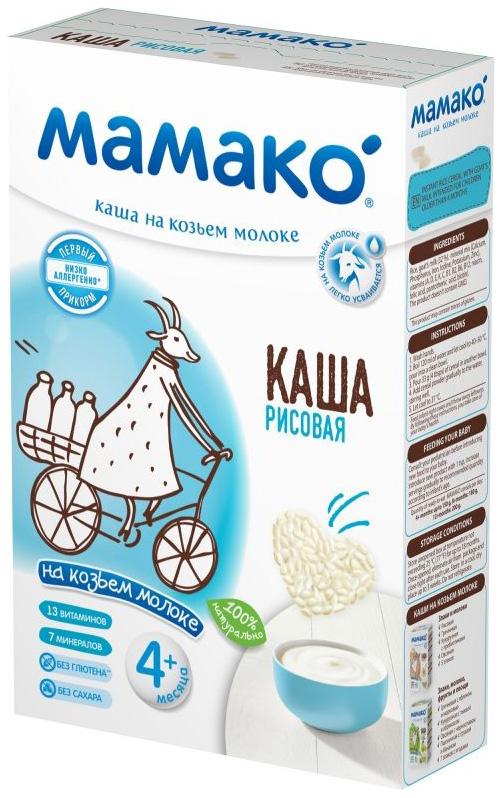 Каша рисовая Мамако на козьем молоке 200г