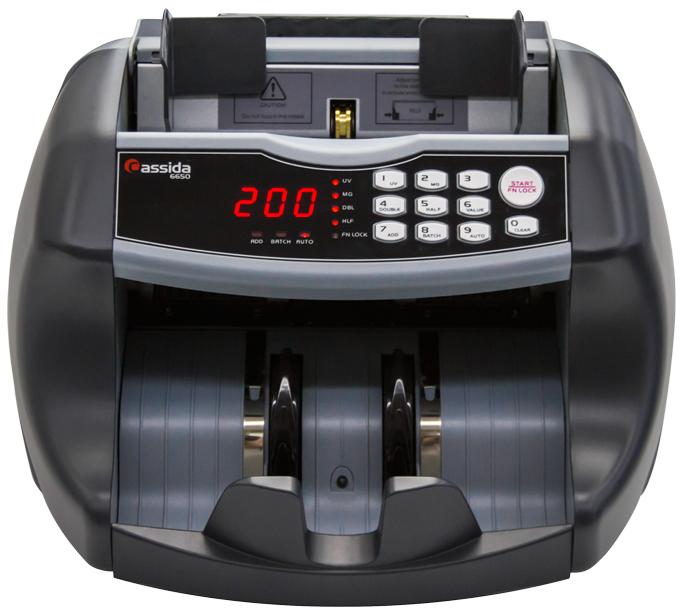Счетчик банкнот Cassida Cassida 6650 UV/MG