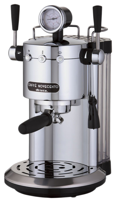 Рожковая кофеварка Ariete Caffe Novecento 1387 Silver