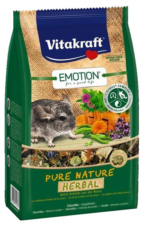 Корм для шиншилл Vitakraft Pure Nature Herbal
