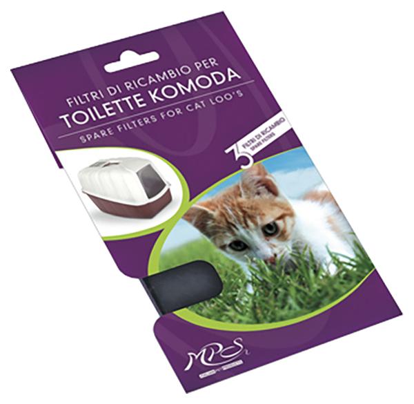 Био фильтр для кошачьего туалета MPS Komoda