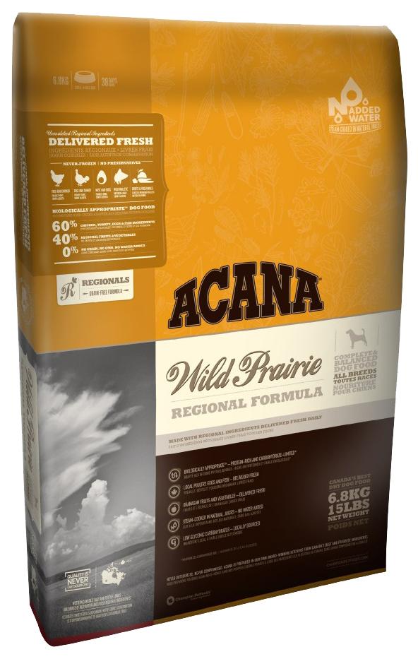 Сухой корм для собак ACANA Regionals Wild Prairie, курица, 0,34кг фото