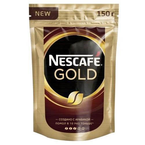 Кофе растворимый Nescafe gold  150 г