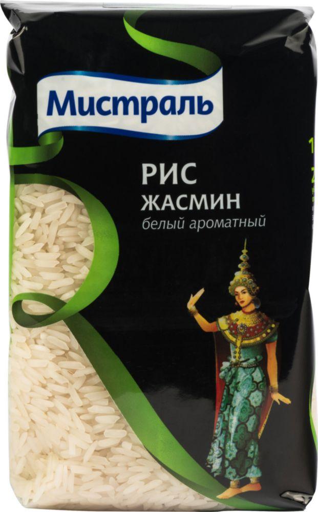 Рис Мистраль жасмин белый ароматный 500 г фото