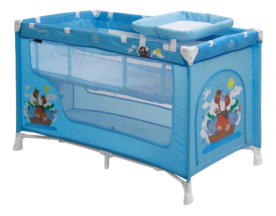 Кроватка Lorelli (Bertoni) Nanny 2 Blue Adventure