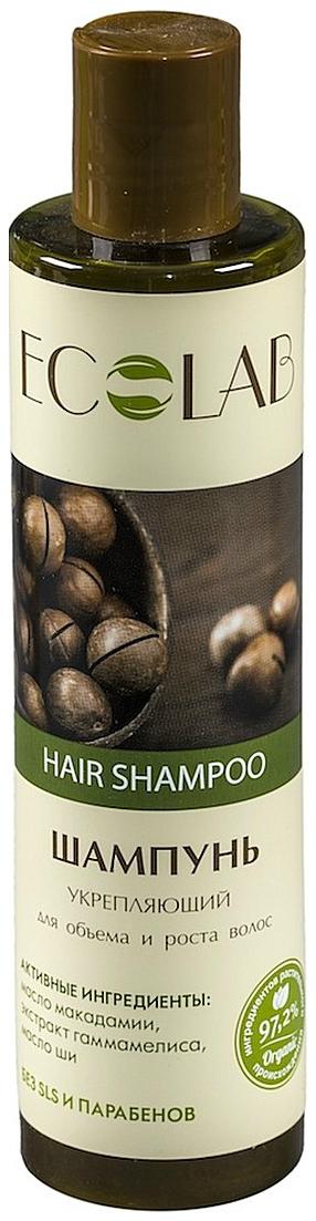 Купить Шампунь Ecolab Укрепляющий для объема и роста волос 250 мл, EO LABORATORIE