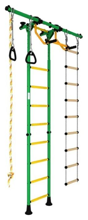 Спортивный комплекс Romana Karusel R55 ДСКМ-2-8.06.Г5.410.01-12 зеленый жёлтый