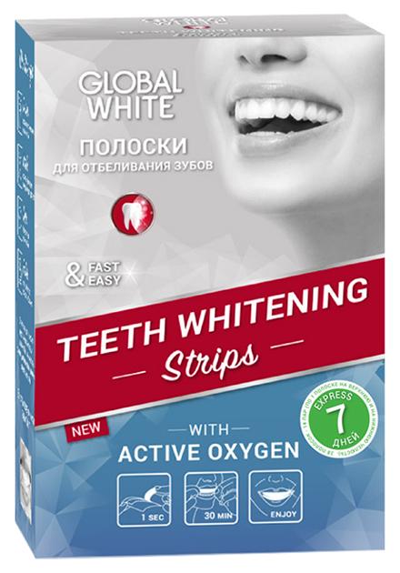 Пластина для отбеливания зубов Global White Teeth
