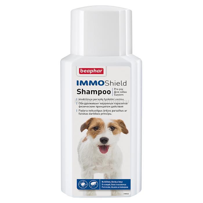 Шампунь для собак Beaphar Immo Shield против блох и клещей, диметикон, 250 мл