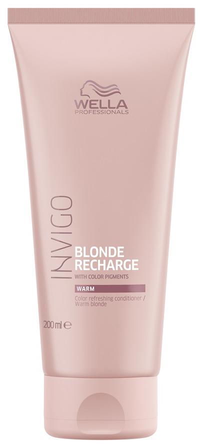 Купить Кондиционер для волос Wella Professionals INVIGO Blonde Recharge Warm 200 мл