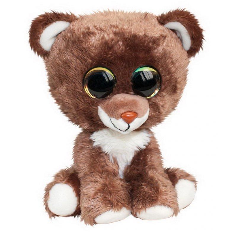 Купить Мягкая игрушка Tactic Мишка Otso, коричневый, 15 см, Мягкие игрушки животные