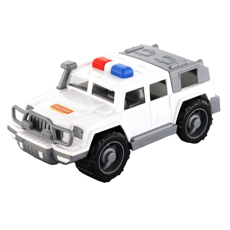 Купить Автомобиль-Джип Полесье военный патрульный Защитник 31х15, 5х13 см, Военный транспорт