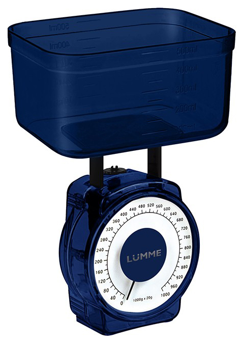 Весы кухонные LUMME LU 1301 Dark Blue